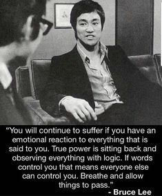 Bruce lee is a Hollywood and martial arts icon. His contribution to the world of fighting is still remembered today. Wise Quotes, Quotable Quotes, Great Quotes, Motivational Quotes, Inspirational Quotes, Qoutes, Cherish Quotes, Inspiring People Quotes, Madea Quotes