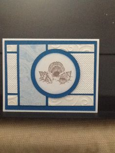 Stamp by PSX.  CASEd from a card by Julie Brancort
