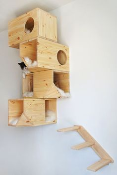 Cat Houses on Pinterest | Cat Trees, Outdoor Cats and Cat Furniture
