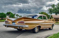 1959 Chevrolet Impala Bel-Air #chevroletimpala1959