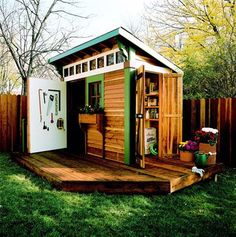 Relaxshacks.com: Micro-SHED-alicious- These seven little backyard cabins just may be inspiration for you own TINY HOUSE!