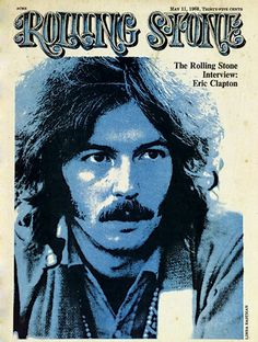 Eric Clapton-Rolling Stone-1968-Photograph by Linda Eastman