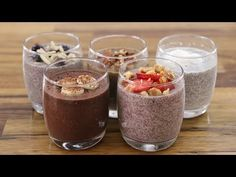 Chia pudding is the perfect healthy breakfast, but also can be enjoyed as a balanced snack or dessert. Banana Chia Pudding, Coconut Chia Pudding, Milk Recipes, Snack Recipes, Snacks, Pudding Recipes, Free Recipes, Healthy Lunches For Kids, Easy Healthy Recipes