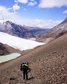 Topp 3 äventyr med @isabellaargiriou. 5 dagars trek i Patagonien där ombyten vägde för mycket att ta med sig. #tbt #patagonia #argentina