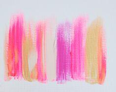 Colors 263 - an original painting by Jen Ramos at Cocoa & Hearts