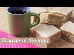 Receita de Brownie de Banana com Opção sem Glúten - Choco Me Up!