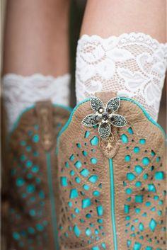 Rhinestone Flower - Cuff Love & Company  #BootBling, #bootjewlery #BootAccessories,#cowgirl wedding #westernwedding #cowboywedding www.cufflovecompany.com