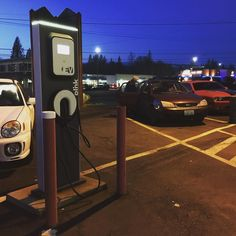 Looking for a public-use electric vehicle charger in North Mason County? You can find two Level 2 Blink Chargers at the Belfair Log Plaza powered by 97% carbon-free electricity from #PUD3!  #EV #electricvehicle #PoweredbyPUD3 #cleanenergy #carbonfree #blink #cleanpower #electriccar #charger #belfair #masoncounty #tesla #leaf #BMWi3 by masonpud3