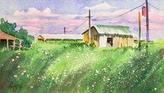 Larry Fentz Studio – Orginal Watercolors