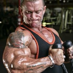 Lee Priest, some of the best arms in bodybuilding.
