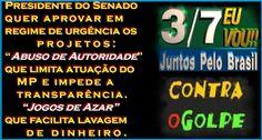 O INFAUSTO FINAL DE JUNHO Os brasileiros andam aflitos e impacientes, nervosos e desorientados! http://almirquites.blogspot.com/2016/07/o-infausto-final-de-junho.html _____