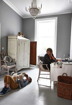 Interiors: A dark and handsome Brighton home inspired by Harry Potter - Telegraph