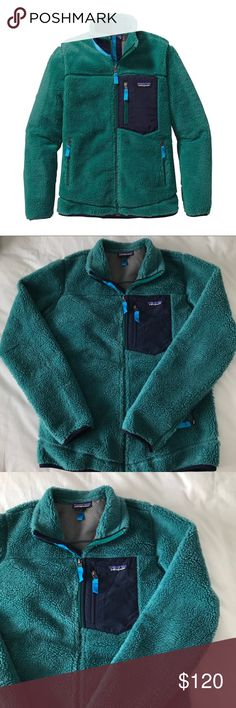 Patagonia Women's Classic Retro-X Fleece Jacket Super cozy Retro-X Fleece Jacket from Patagonia. Color is Arbor Green. Like-new condition! I bought this from another posher who barely wore it, but she did write her name on the tab inside. I never wore it myself because it was a bit too big on me. Size M. Patagonia Jackets & Coats