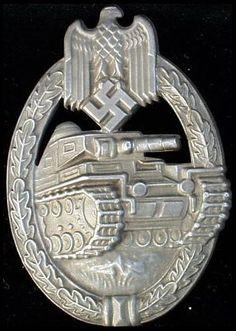 Panzerkamfabzeichen - Panzer Assault Badge in Bronze.