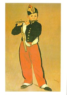 (11364) Postcard - Art - Edouard Manet - The Fifer from 1866 - modern card | eBay