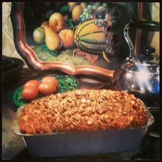 Farm Chick Chit Chat: Oatmeal Banana Bread with Streusel Topping