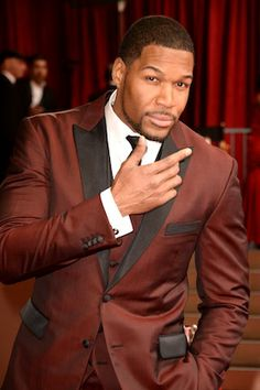 Michael Strahan Oscars Red Carpet Arrivals 2014