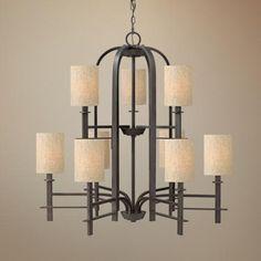 "Hinkley Sloan Collection 36"" Wide Regency Bronze Chandelier - #V3866 | LampsPlus.com"