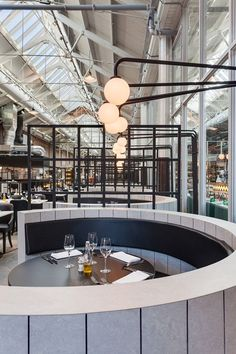 MEAT WEST - Picture gallery #architecture #interiordesign #restaurant