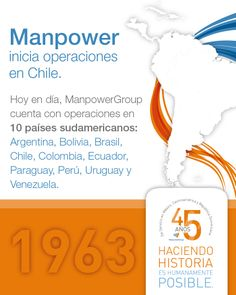 En 1963, ManpowerGroup...
