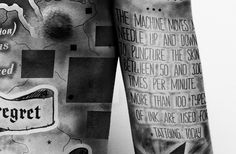 TATTOO - INFOGRAPHICS by Paul Marcinkowski, via Behance