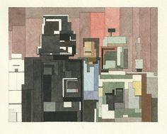 Adam Lister's water colours. 8bit-empire-strikes-back.