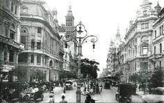 Avenida Rio Branco em 1900