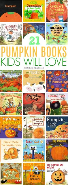 Pumpkin Books Kids Will Love - Crafts on Sea