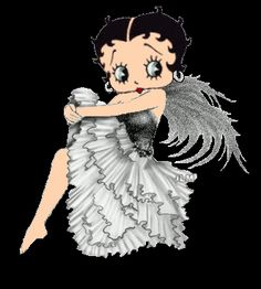 betty boop in gray - Google Search