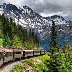 The Dream Location On Instagram White P Yukon Route Railroad In Skagway