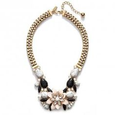 33% off Kate Spade New York - Necklace Glossy Petals Bib Shell Multi - $166.16