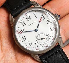 Rpaige Waltham Original Antique Dial Watch Review   wrist time watch reviews
