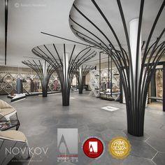 Strabo Store - Silver A' Design Award winner! Novikov Designs  www.novikovdesigns.co.uk