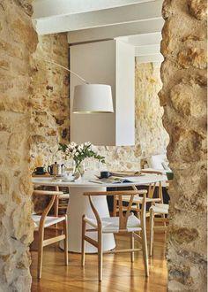 Une maison en pierres à la décoration contemporaine - PLANETE DECO a homes world
