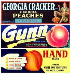 accidental mysteries: The Beauty of Peach Labels: Sweet!
