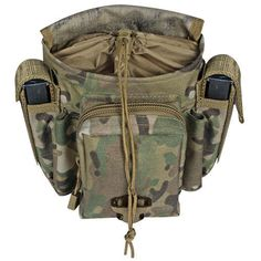 Fox Tactical MOLLE Advanced Tactical Ammo Dump Pouch Heavy Duty - CRYE Multicam #FoxTactical