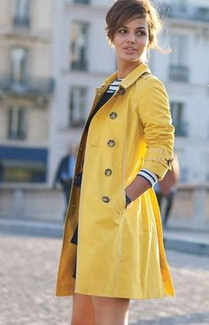 Look and feel fantastic and wear colour #RaincoatsForWomenGray