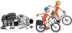 Da geht das #biketowork noch einfacher: Bike4Car - wie funktioniert's? #EnergieSchweiz Stationary, Gym Equipment, Bike, Vehicles, Bicycle, Bicycles, Workout Equipment