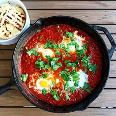 I would SHAK up with this || Photo + food by @TheGingerlist who made this drool-inducing Shakshuka…