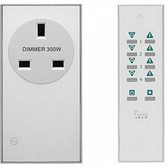 LightwaveRF Remote Control Dimmable Socket Kit - 2 pack