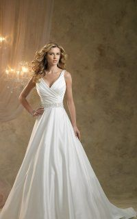 Delicate Sleeveless Asymmetrical Ruched a Line Dress With Jeweled Waist