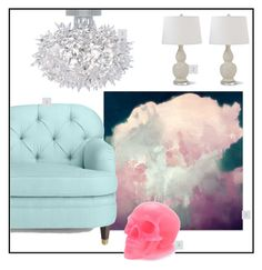 """SPACEy"" by kowanse on Polyvore featuring interior, interiors, interior design, дом, home decor, interior decorating, Kate Spade, Kartell и Killstar"