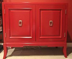 Red Chest $250 - Hinsdale http://furnishly.com/catalog/product/view/id/5304/s/red-chest/