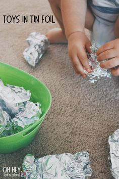 Activity Ideas for 12-18 Month-Olds