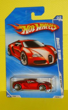 294 best HOT WHEELS THAT ARE WORTH BIG BUCKS IF YOU CAN FIND THEM     2010 HOT WHEELS HOT AUCTION  160 Bugatti Veyron   Satin Red