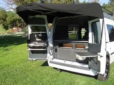 Ford Transit Connect Camper Conversion by KHD Campers by Kevin Hornby Designs, via Flickr: