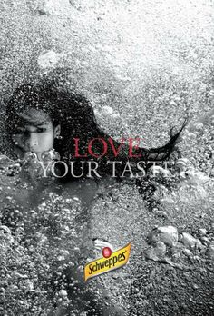 Bubbly Underwater Ads: The Schweppes Campaign Features Artistic Grayscale Photography (by MK, Oslo, Norway)