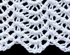 A Tunisian crochet ripple stitch pattern created for my Steeked Tunisian Lace class (this July 14 in Charleston SC).