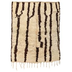 Azilal abstract rug   From a unique collection of antique and modern moroccan and north african rugs at http://www.1stdibs.com/furniture/rugs-carpets/moroccan-rugs/