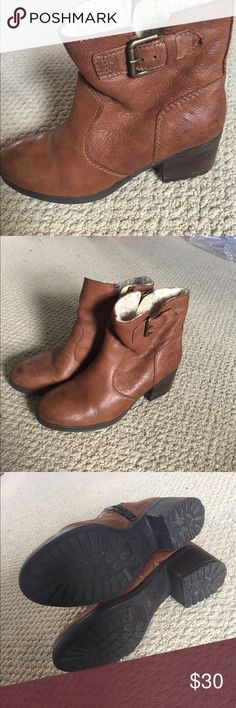 Steve Madden boots Steve Madden boots with heel, shelling lining Steve Madden Shoes Ankle Boots & Booties